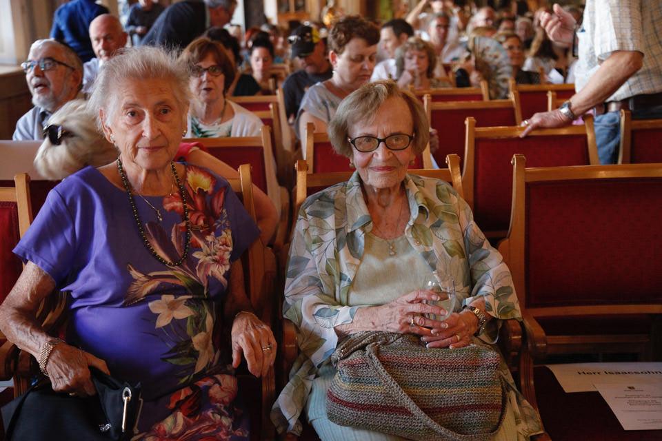 Porträt Eva Wechsberg und Chana Gildoni